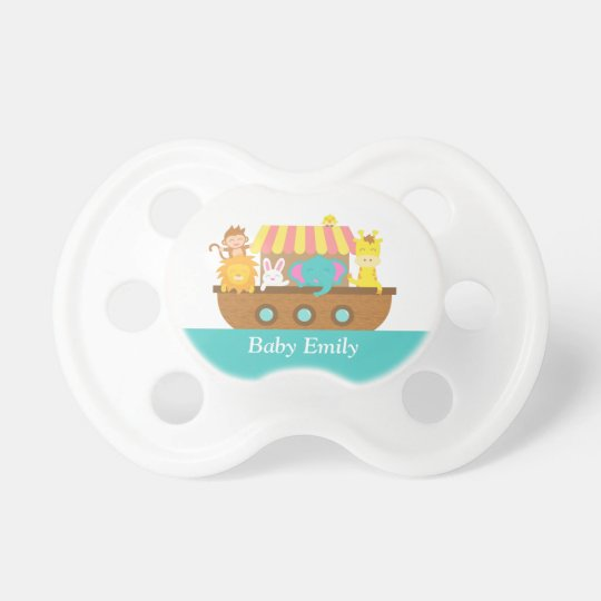 Noah's Ark, Cute Animals for Baby Boy or