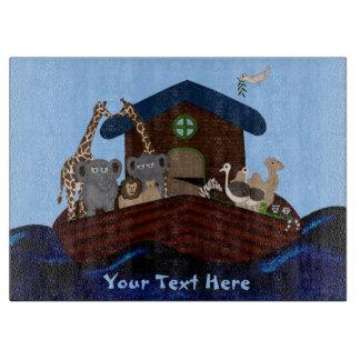 Noah's Ark Cutting Board