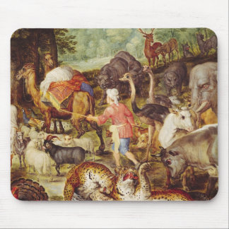 Noah's Ark, detail of the right hand side Mouse Pad
