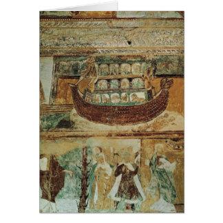 Noah's Ark During the Flood, c.1100 Card