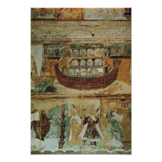 Noah's Ark During the Flood, c.1100 Poster