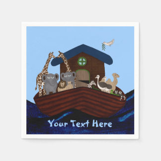 Noah's Ark Paper Napkins