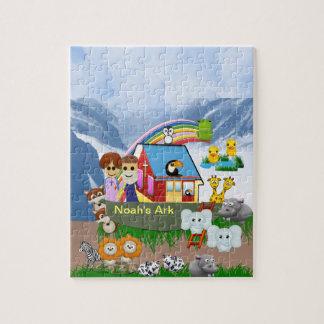 Noah's Ark Photo Puzzle, 110 Pieces Jigsaw Puzzle