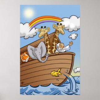 Noah's Ark Poster by Salinas Slugger Studios