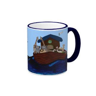 Noah's Ark Ringer Mug