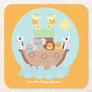 Noah's Ark Square Coasters