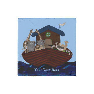Noah's Ark Stone Magnet