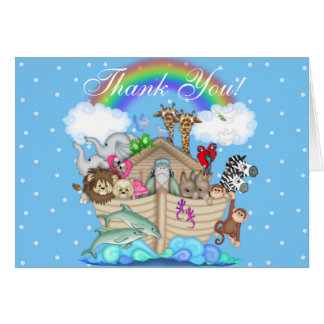 Noah's Ark Thank You  Notes