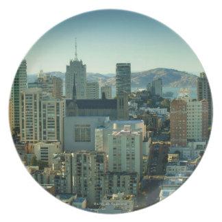 Nob Hill, San Francisco Plate