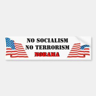 NObama3 Bumper Sticker