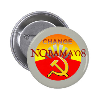 NOBAMA 08 CHANGE Button