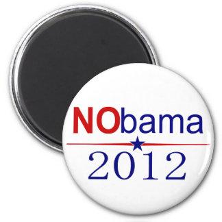 NObama 2012 election 6 Cm Round Magnet