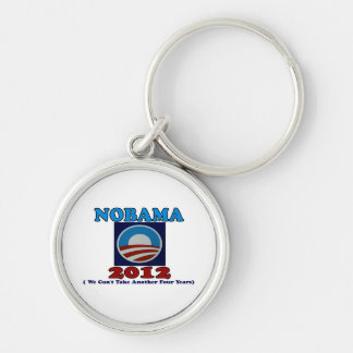 NOBAMA 2012 with Logo Keychains