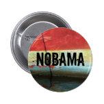 NOBAMA 6 CM ROUND BADGE
