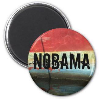 NOBAMA 6 CM ROUND MAGNET
