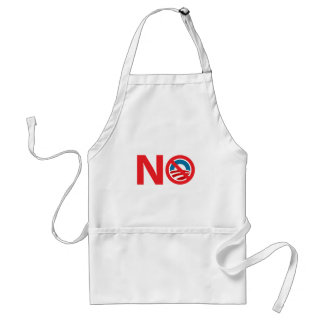 NObama Anti Obama Sign Standard Apron