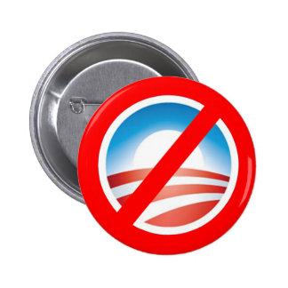 NOBAMA Anti Obama T shirts, Mugs, Hoodies 6 Cm Round Badge