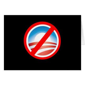 NOBAMA Anti Obama T shirts, Mugs, Hoodies Greeting Card