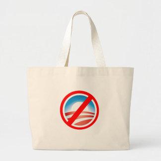 NOBAMA Anti Obama T shirts, Mugs, Hoodies Large Tote Bag