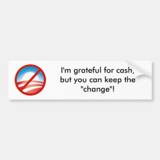 Nobama Bumper Sticker