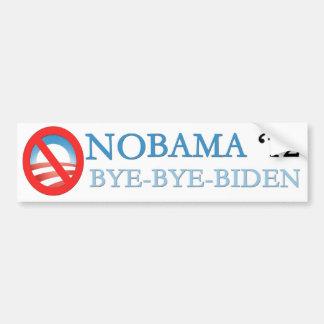 NOBAMA BYE-BYE-BIDEN 12 BUMPER STICKER