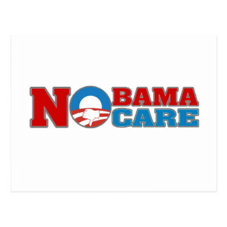 NObama Care Postcard