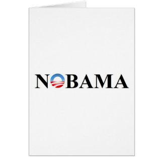 NOBAMA GREETING CARD
