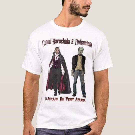 Nobama Halloween - Barackula & Bidenstein T-Shirt
