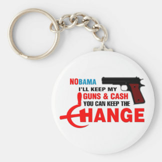 Nobama - Keep The Change! Keychain