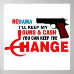 NOBAMA - Keep The Change! Print