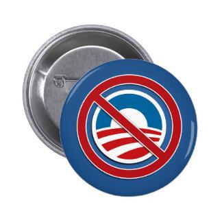Nobama logo - Anti Obama Pins