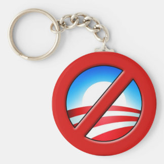 NOBAMA  No Obama Anti-Obama Key Chain