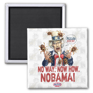 Nobama Politicks Suck Gear Magnets