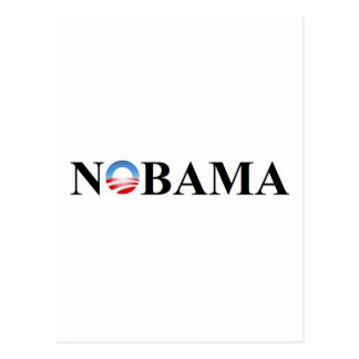 NOBAMA POSTCARD