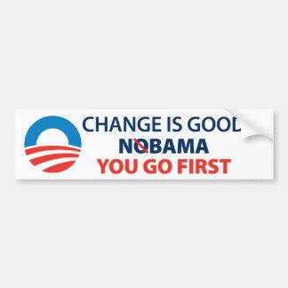 NOBAMA Sticker