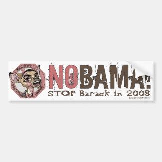 Nobama, Stop Barack In 2008 Bumper Sticker