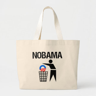 NoBama Tote Bags