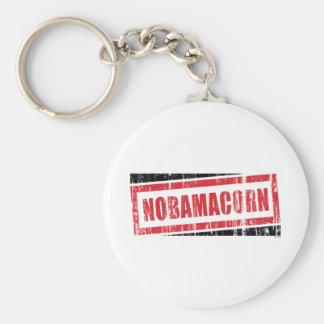 Nobamacorn Basic Round Button Key Ring