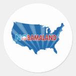 Nobamaland Round Sticker