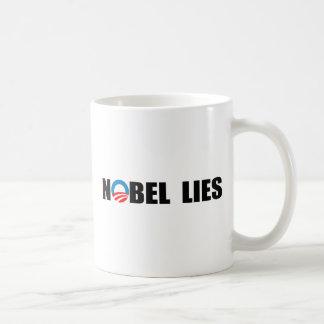 NOBEL LIES BASIC WHITE MUG