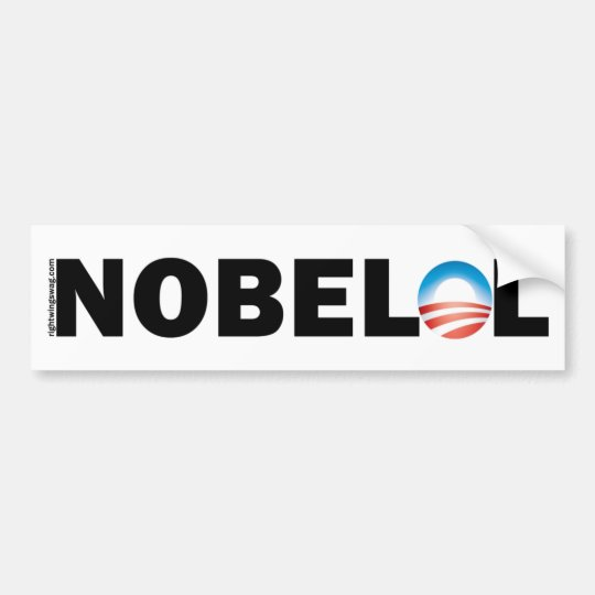 Nobel LOL NOBELOL Bumper Sticker