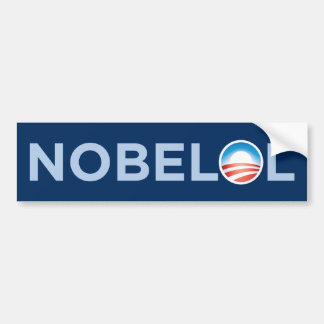 NOBELOL Bumper Sticker