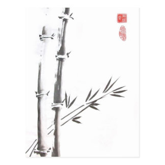 Noble Bamboo Postcard