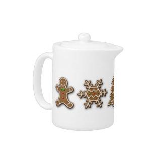 Noble Christmas Gingerbread - Teapot