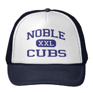Noble Cubs Middle School Noble Oklahoma Cap