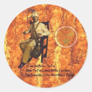 Noble Drew Ali Classic Round Sticker