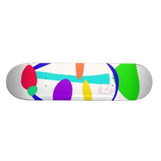 Noble Face Custom Skateboard