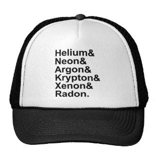 Noble Gases Helium Neon Argon Krypton Radon Xenon Cap