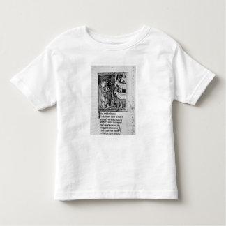 Noble holding, illustration 'Roman de Renart' Toddler T-Shirt