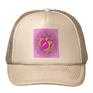 Noble Purple and Gold Cap